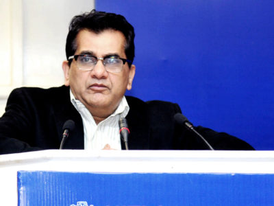 Amitabh Kant CEO of National Institution for Transforming India (NITI)