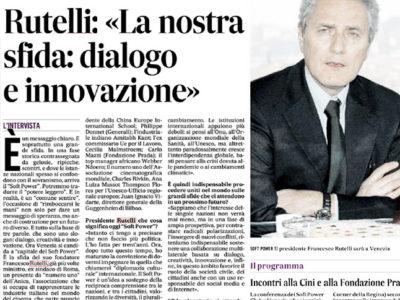 Il Gazzettino Soft Power Club - Intervista a Francesco Rutelli