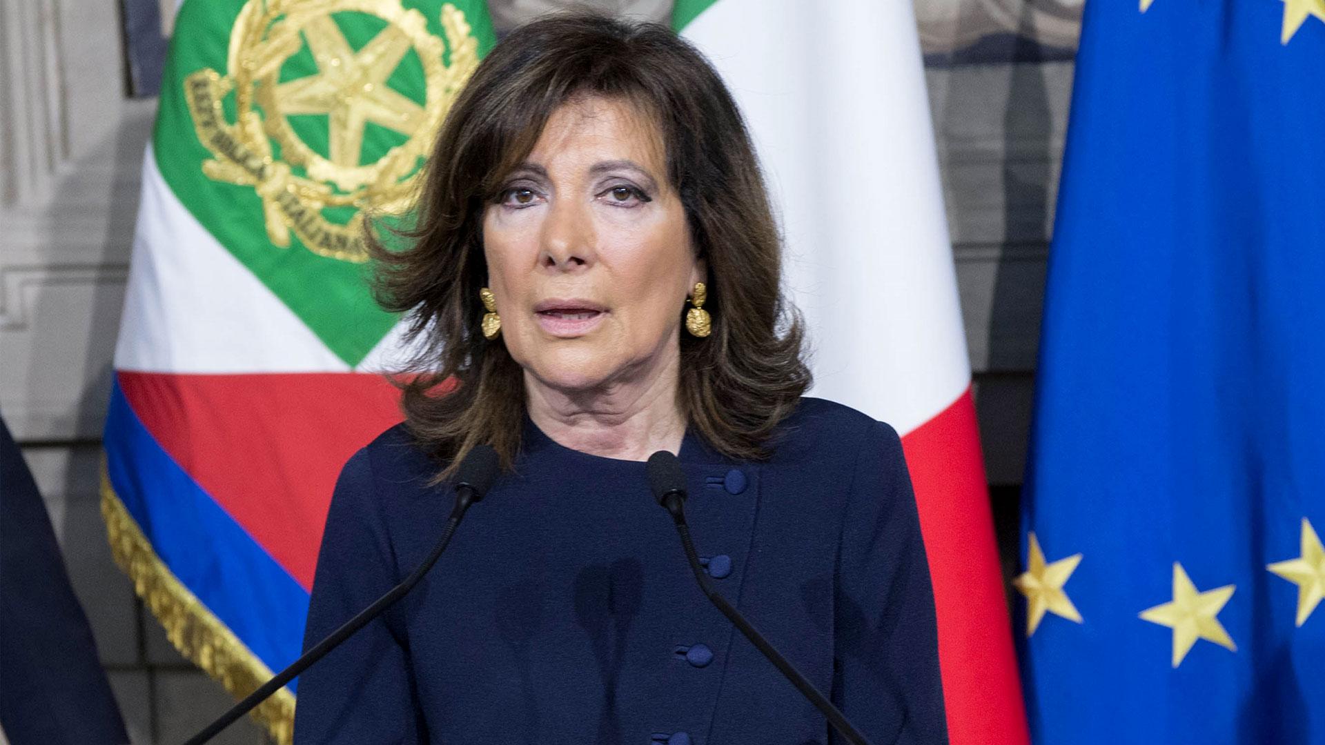 Maria Elisabetta Casellati - Presidente del Senato della Repubblica
